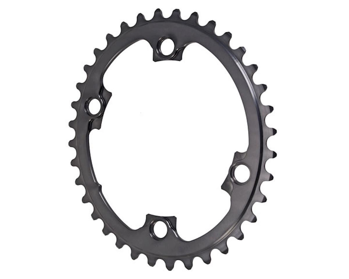 Absolute Black 4x110BCD Winter 2x Oval Chainring