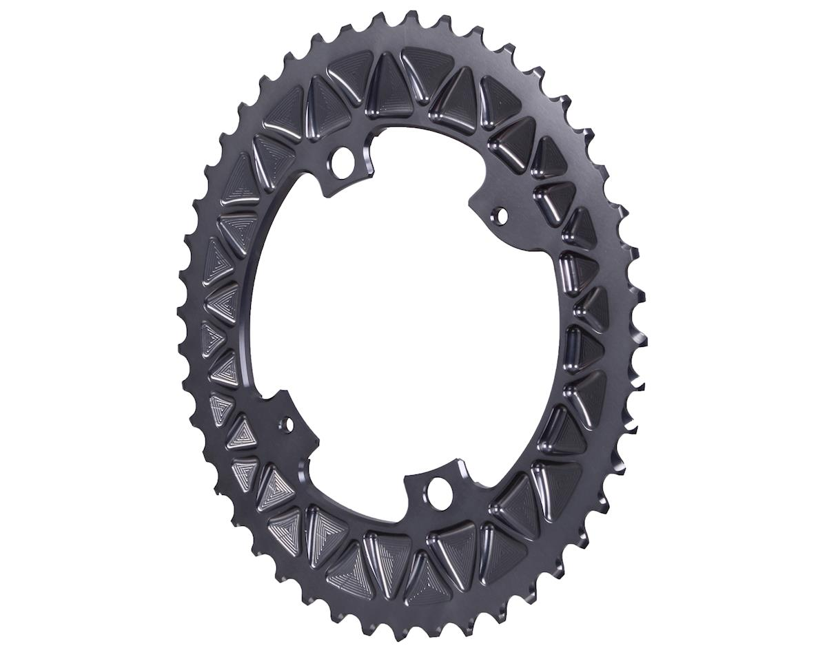 Absolute Black Premium Oval Subcompact Road Inner Chainring 4x110BCD