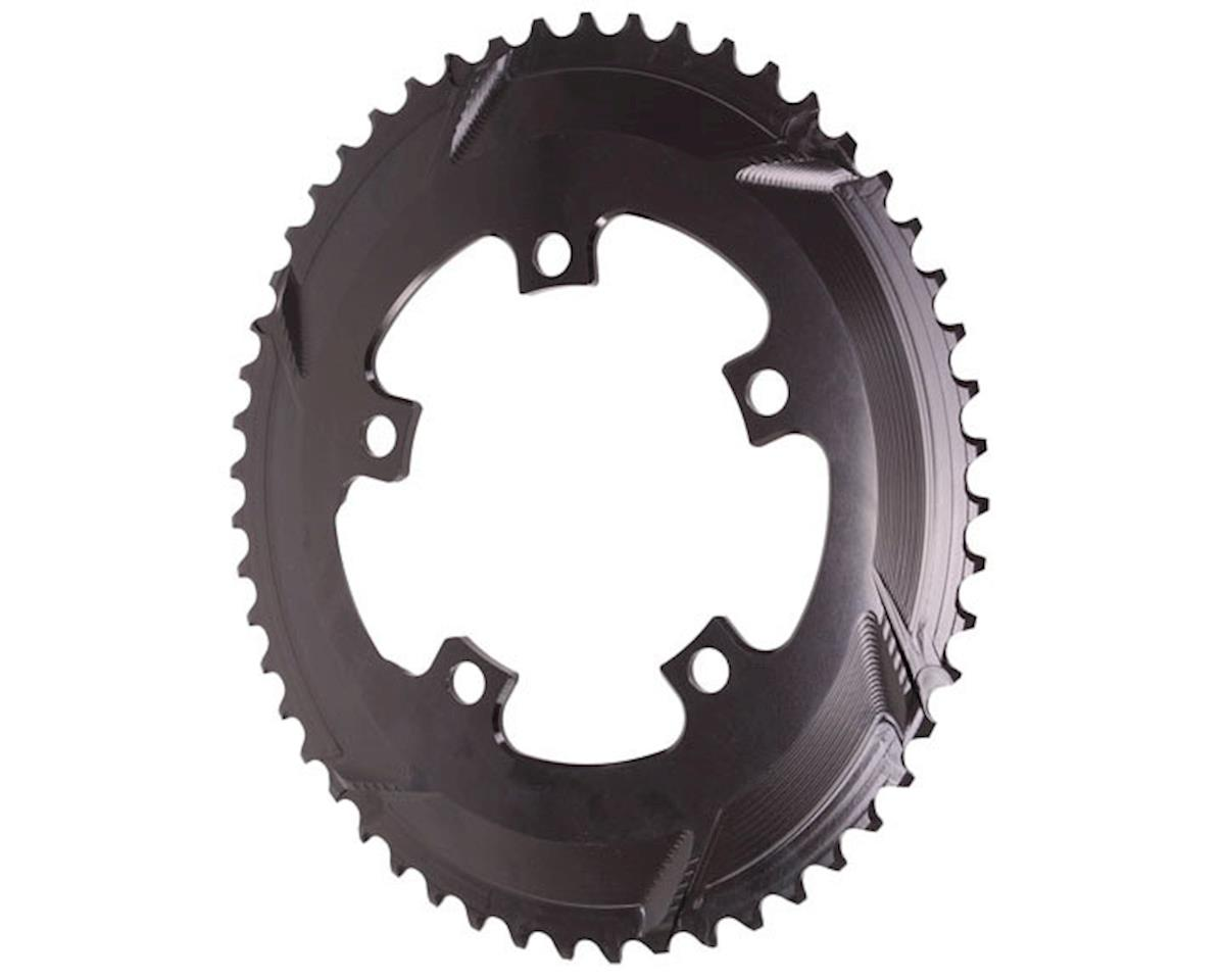 Absolute Black 5x110BCD Premium 2x Oval Chainring