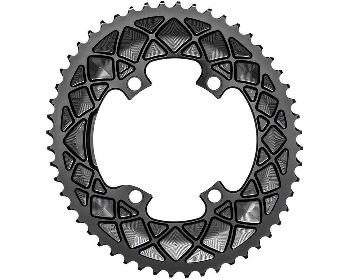 Absolute Black Premium oval road 52T, Shimano 9100/8000 - black