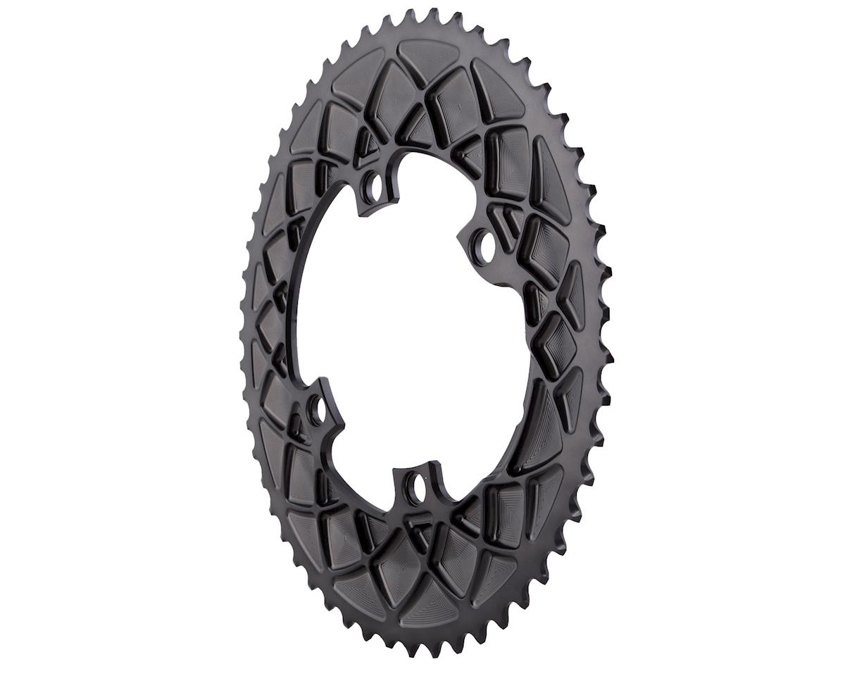 Absolute Black Premium oval road 53T, Shimano 9100/8000 - grey