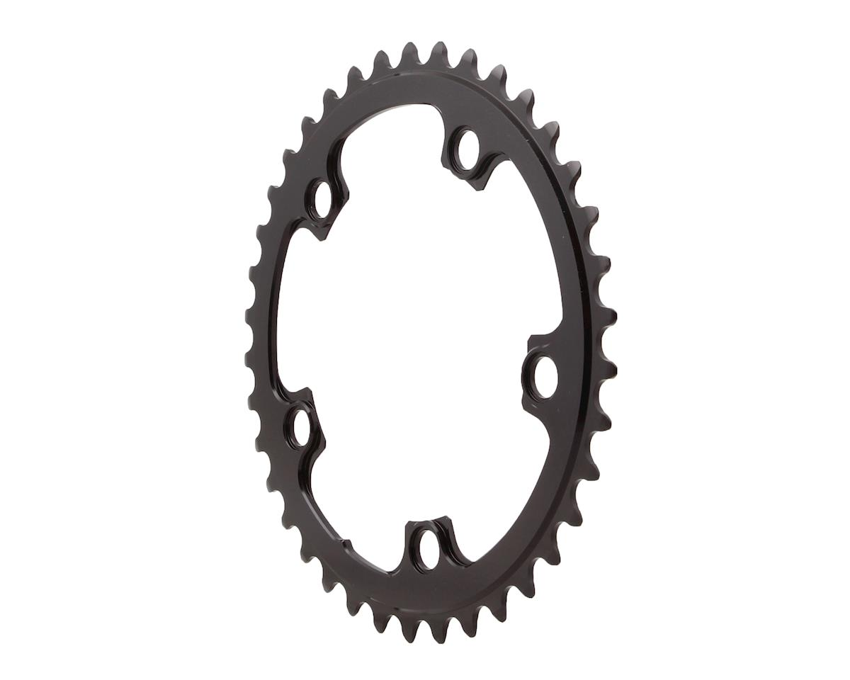 Absolute Black Round Chainring (Black) (110 BCD) (38T)