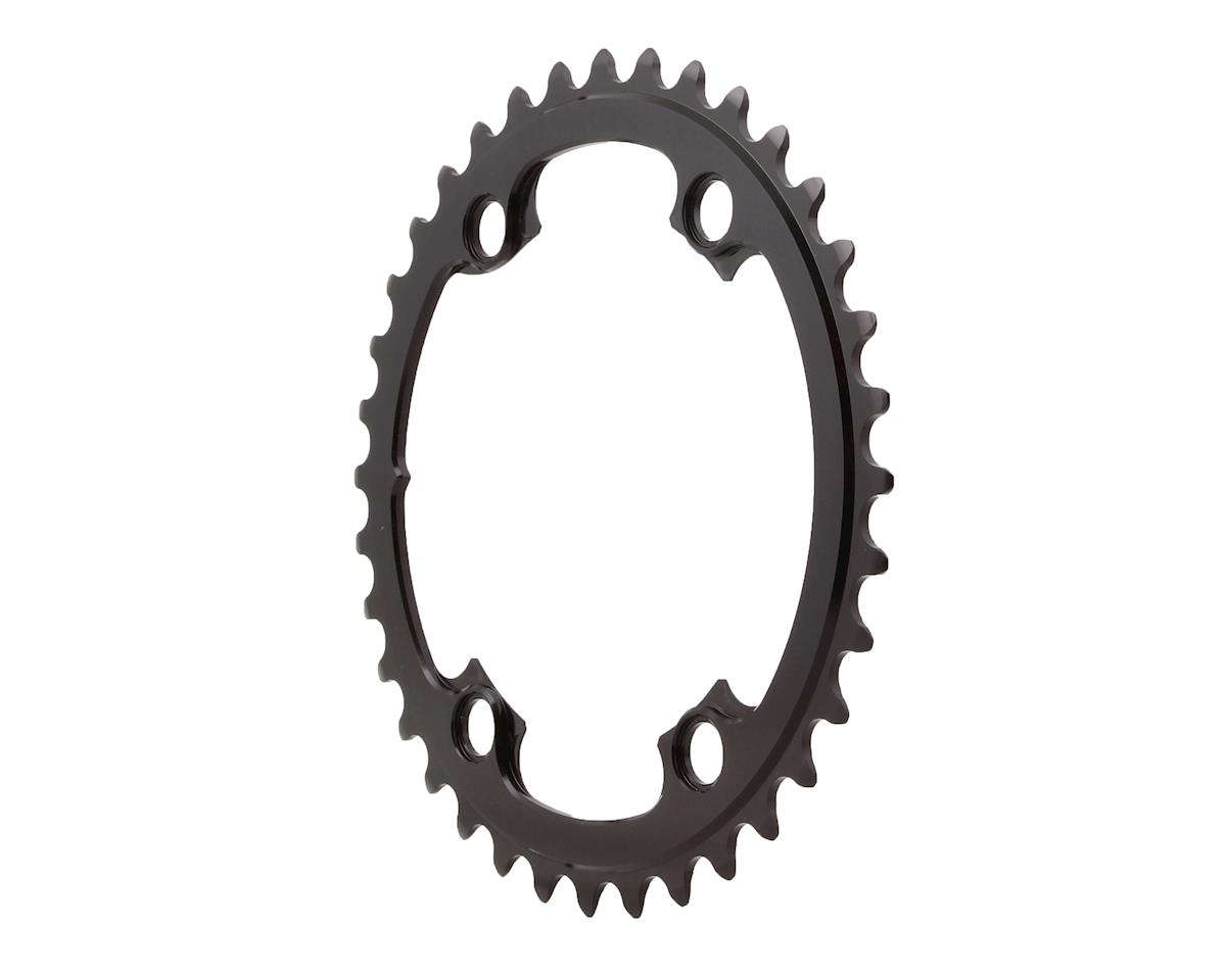 Absolute Black Round Chainring (Shimano Asymetrical) (110 BCD) (36T)