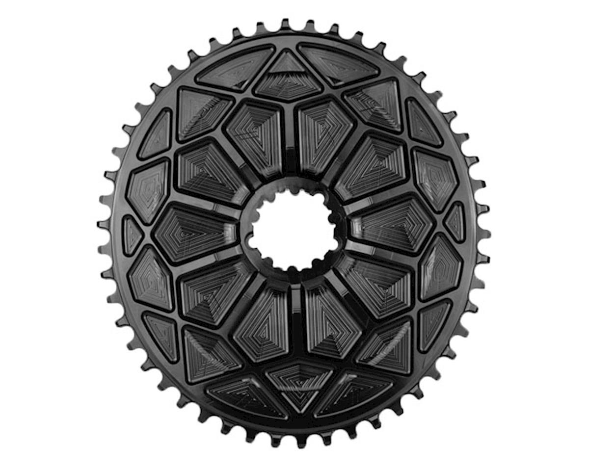 Absolute Black 1x Aero Road GXP/BB30 DM Oval Ring