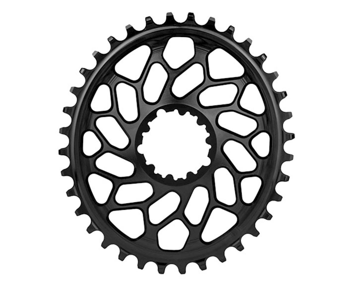 Absolute Black Spiderless GXP/BB30 DM CX Oval Ring