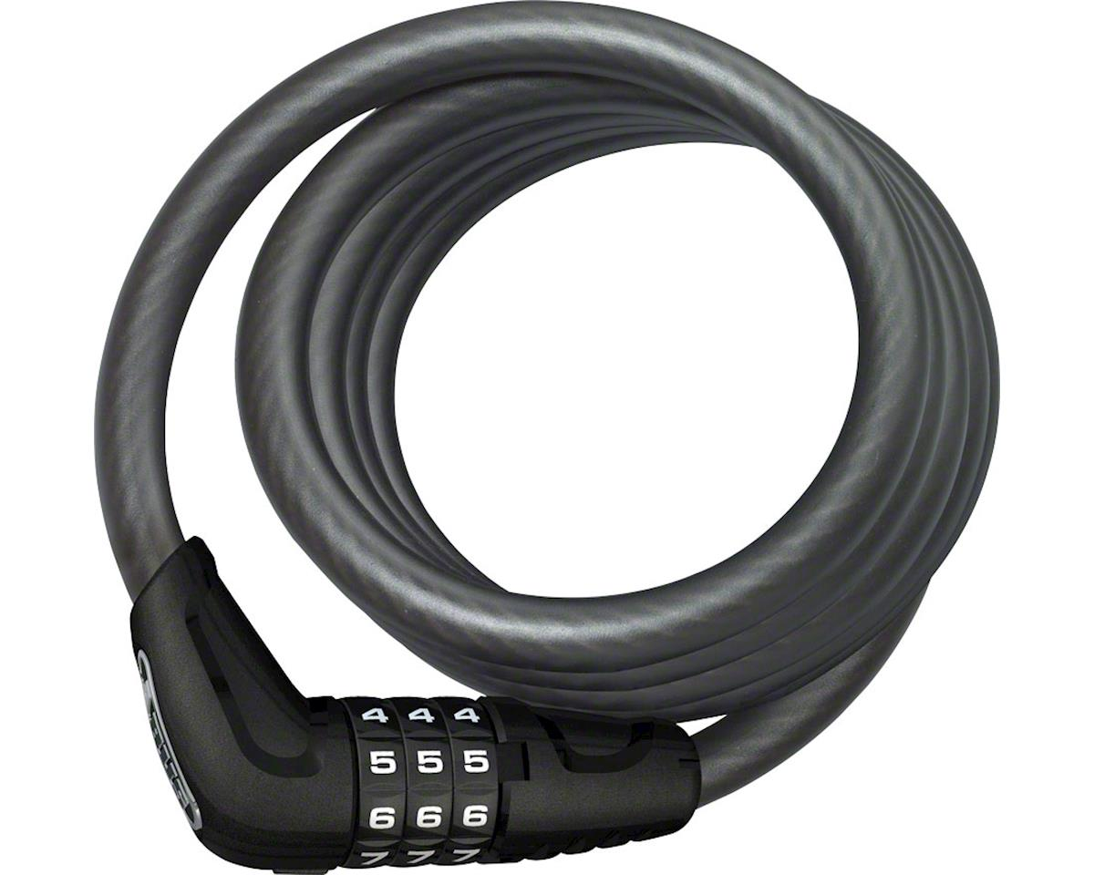 ABUS Star 4508 Combination Coiled Cable Lock: 150cm x 8mm, Black