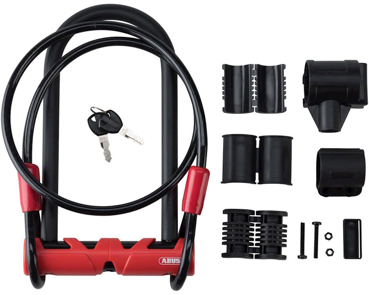 ABUS U-Lock # Ultimate Combopack 420 STD + USH # 9 inch U/ 14mm round diameter +