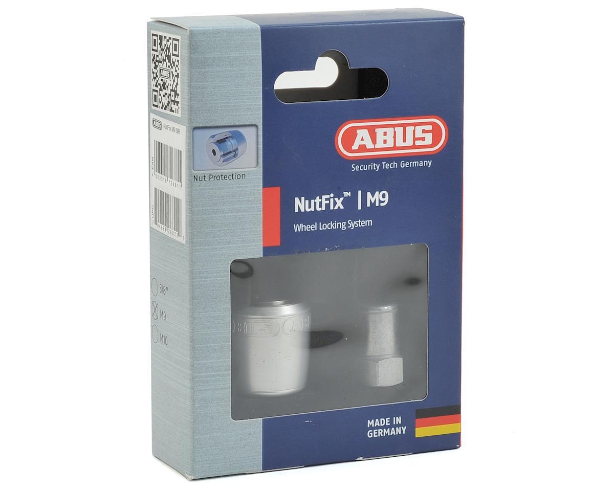 Abus Nutfix Axle Locking Nut (Silver) (2-pack) (M9)