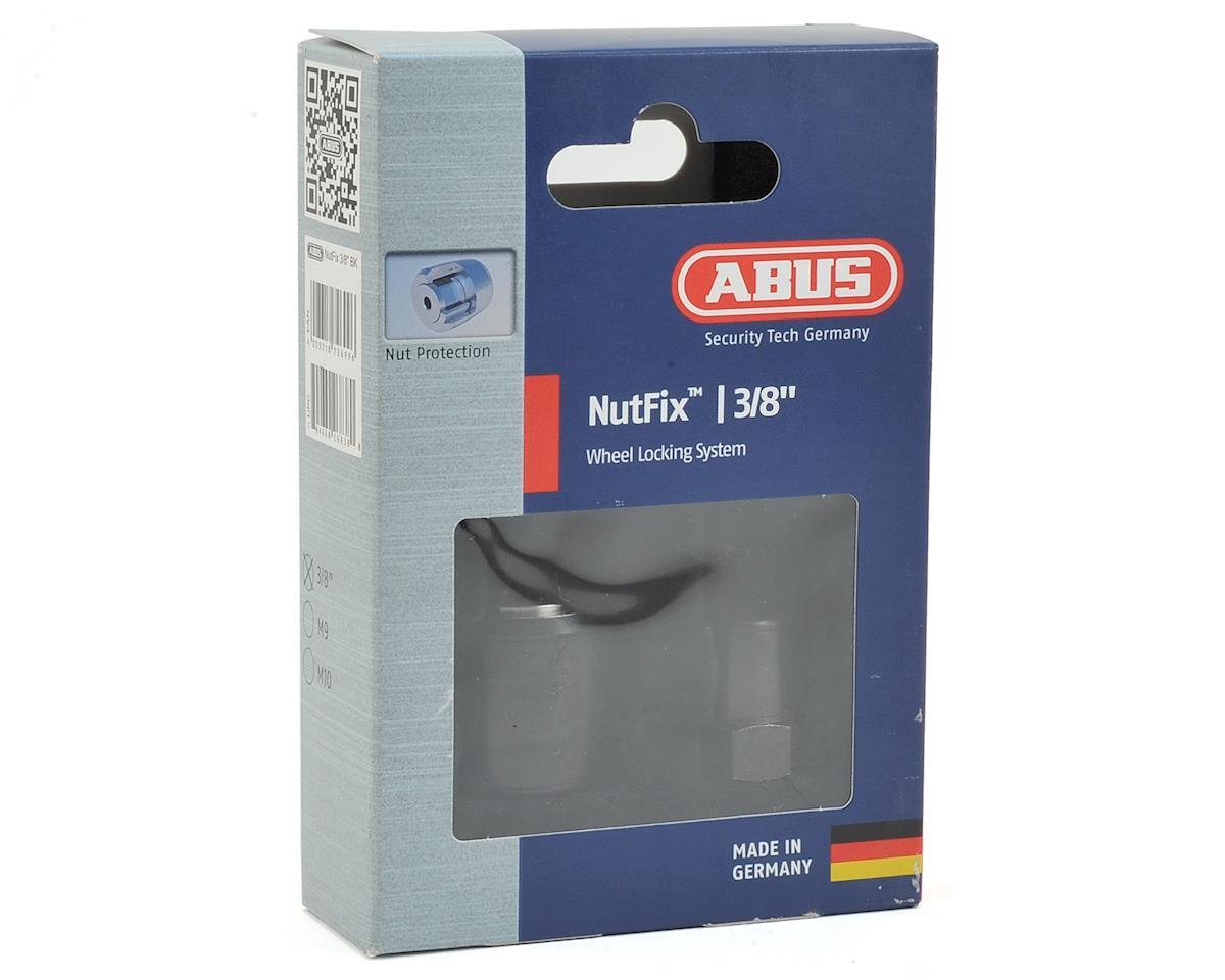 "Abus Nutfix Solid Axle 2 Pack (Black) (M 3/8"")"