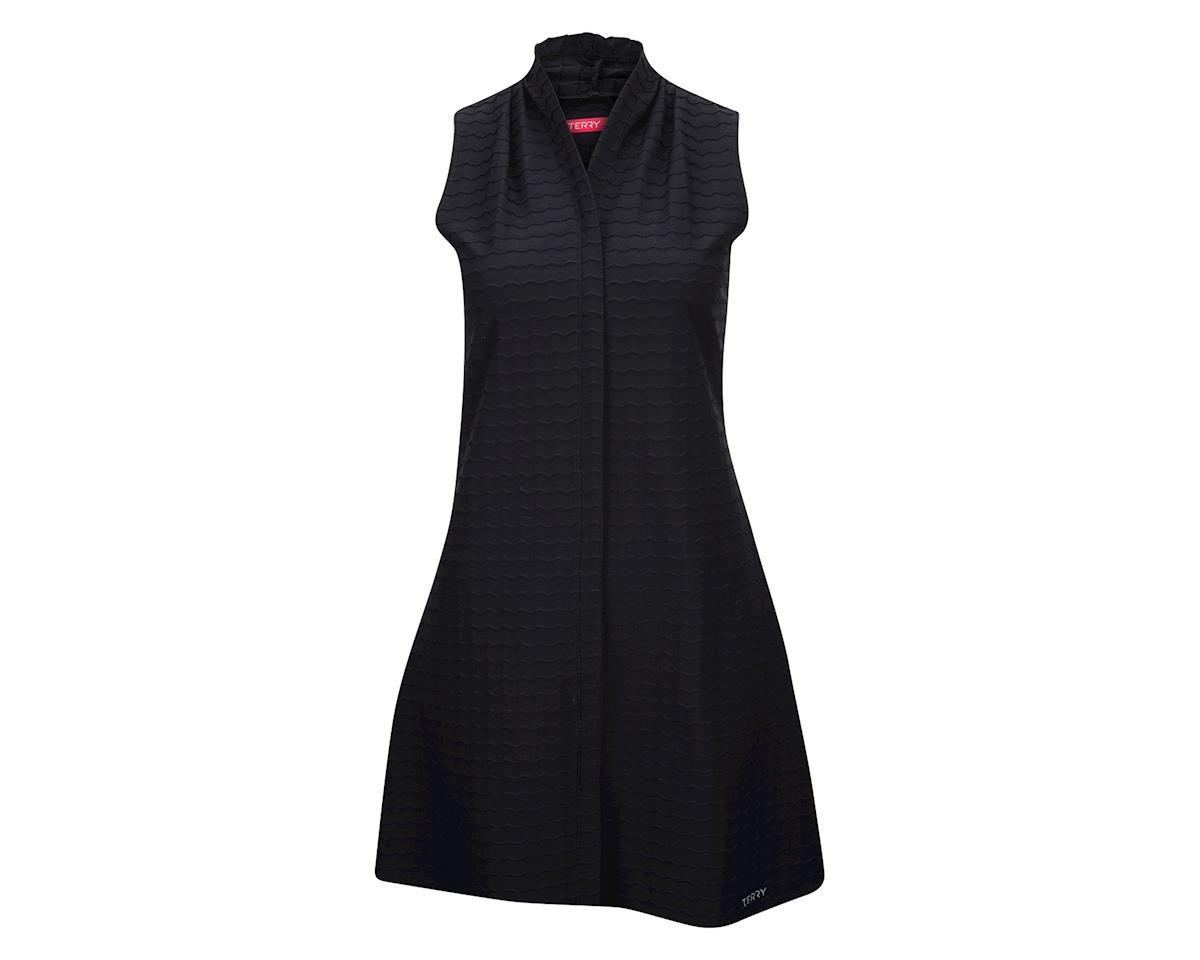 Image 2 for Accu-Fitness Terry Women's Transit Dress (Black Wave)