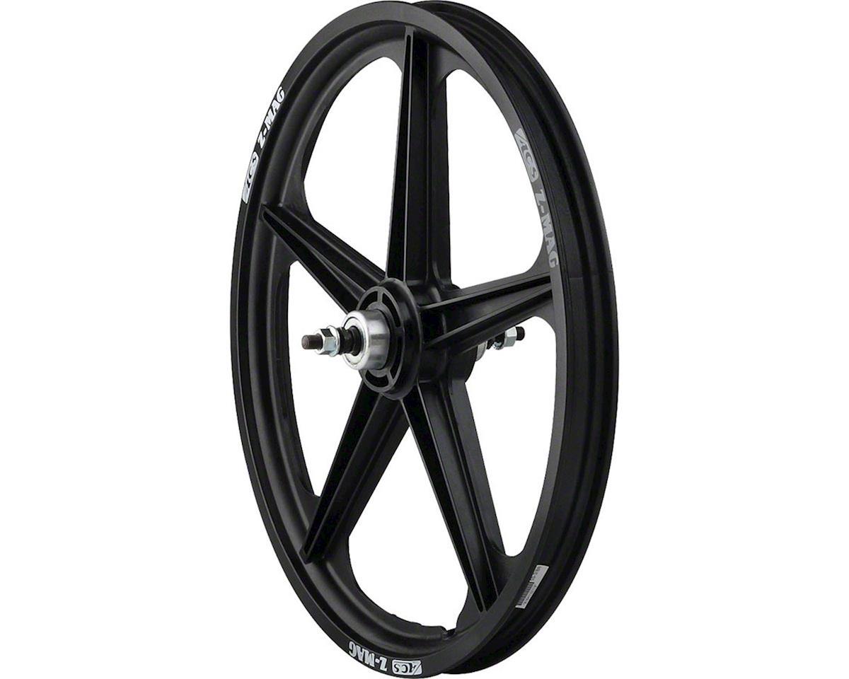 "Acs Z Mag 20"" Rear Wheel, 5 Spoke 3/8"" Axle Black"
