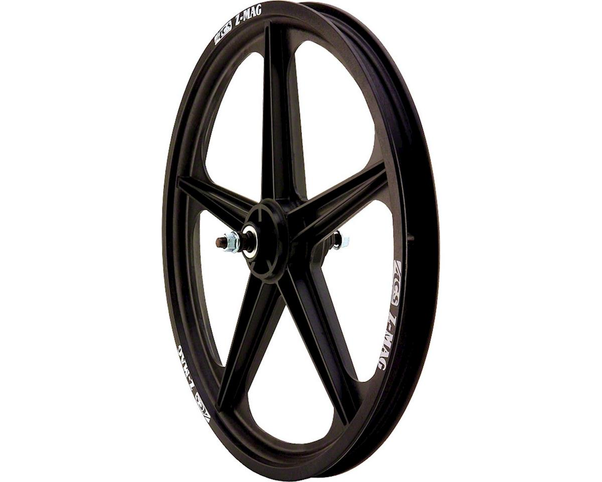 "Z Mag 20"" Front Wheel, 5 Spoke 3/8"" Axle Black"