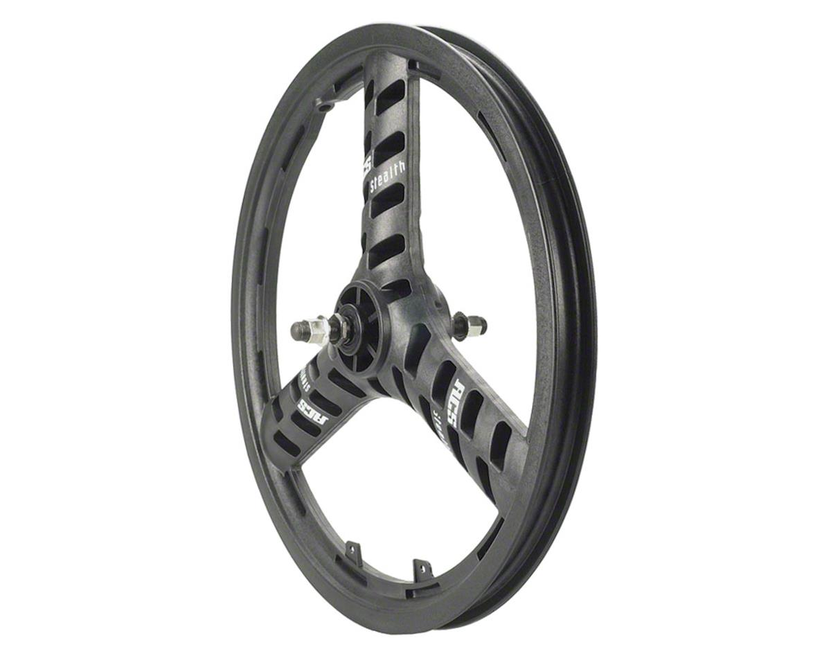 "Acs Stellar Mag 20"" Front Wheel, 3 Spoke 3/8"" Axle Black"