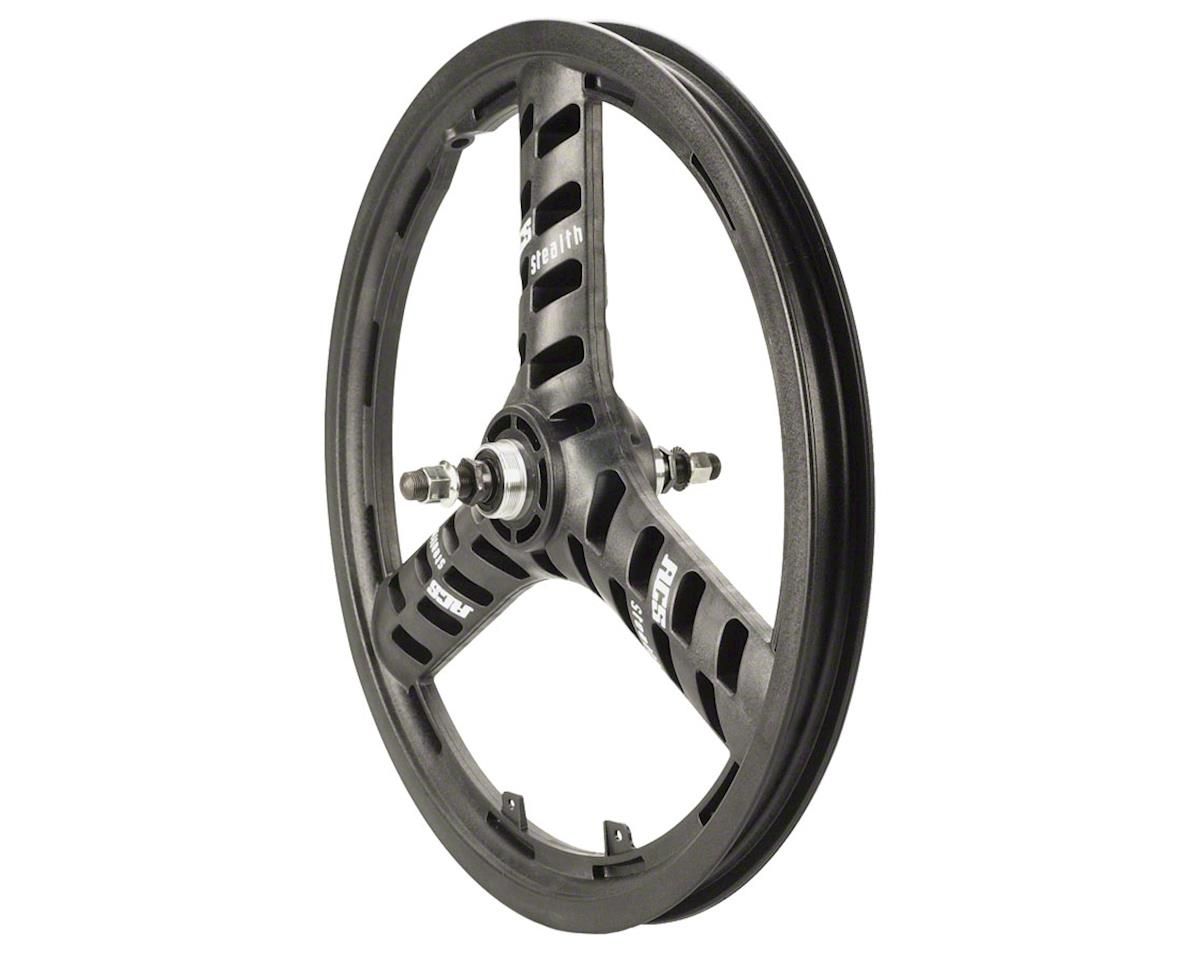 "Stellar Mag 20"" Rear Wheel, 3 Spoke 3/8"" Axle Black"