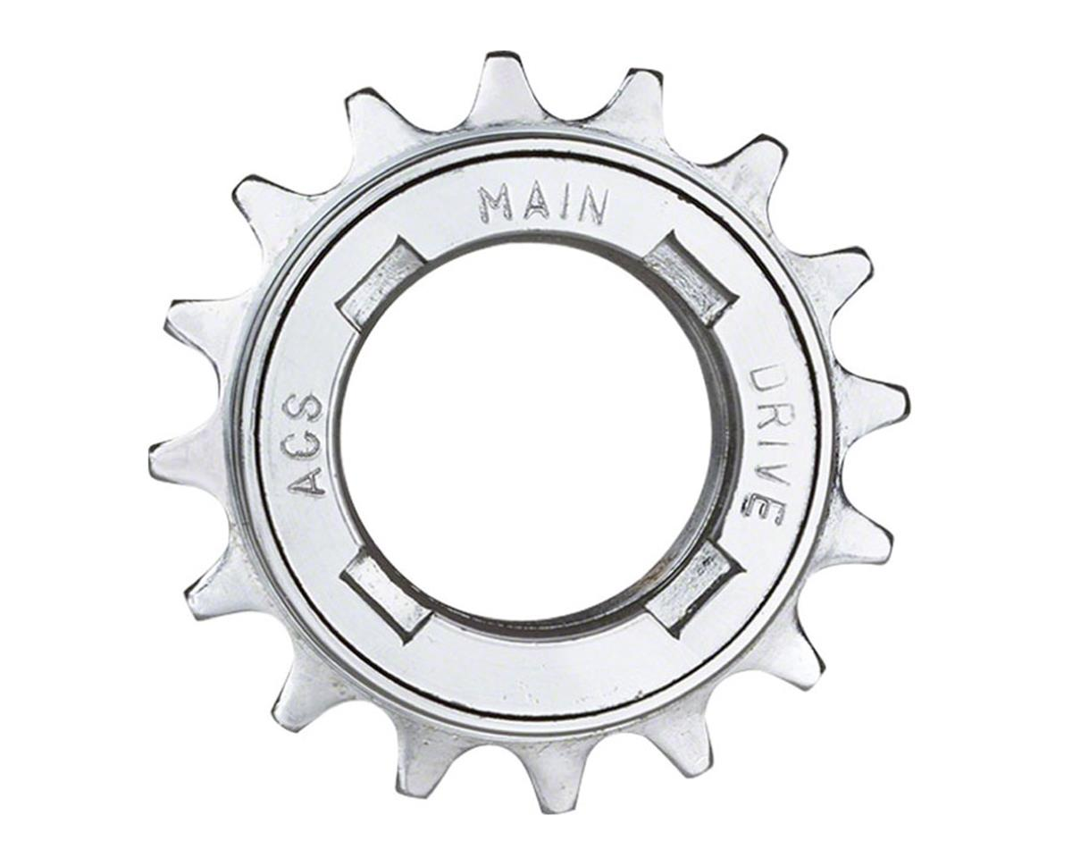 "Acs Main Drive Freewheel, 17t 1/8"" Silver"