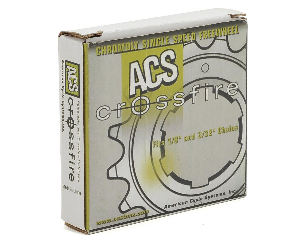Acs Crossfire Freewheel (Gun Metal) (14T)