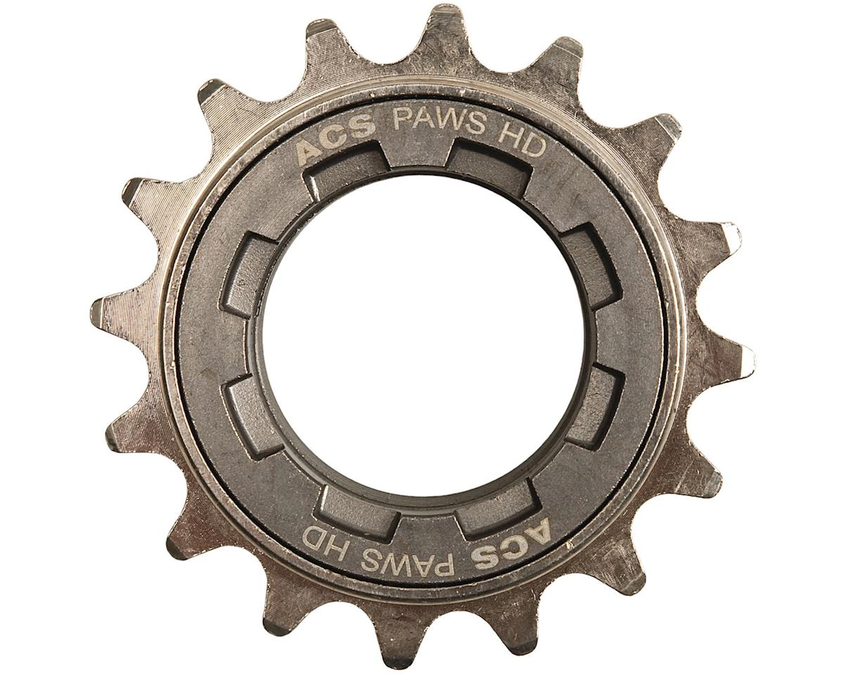 "ACS PAWS HD Freewheel: 18t, 3/32"", Gun Metal"