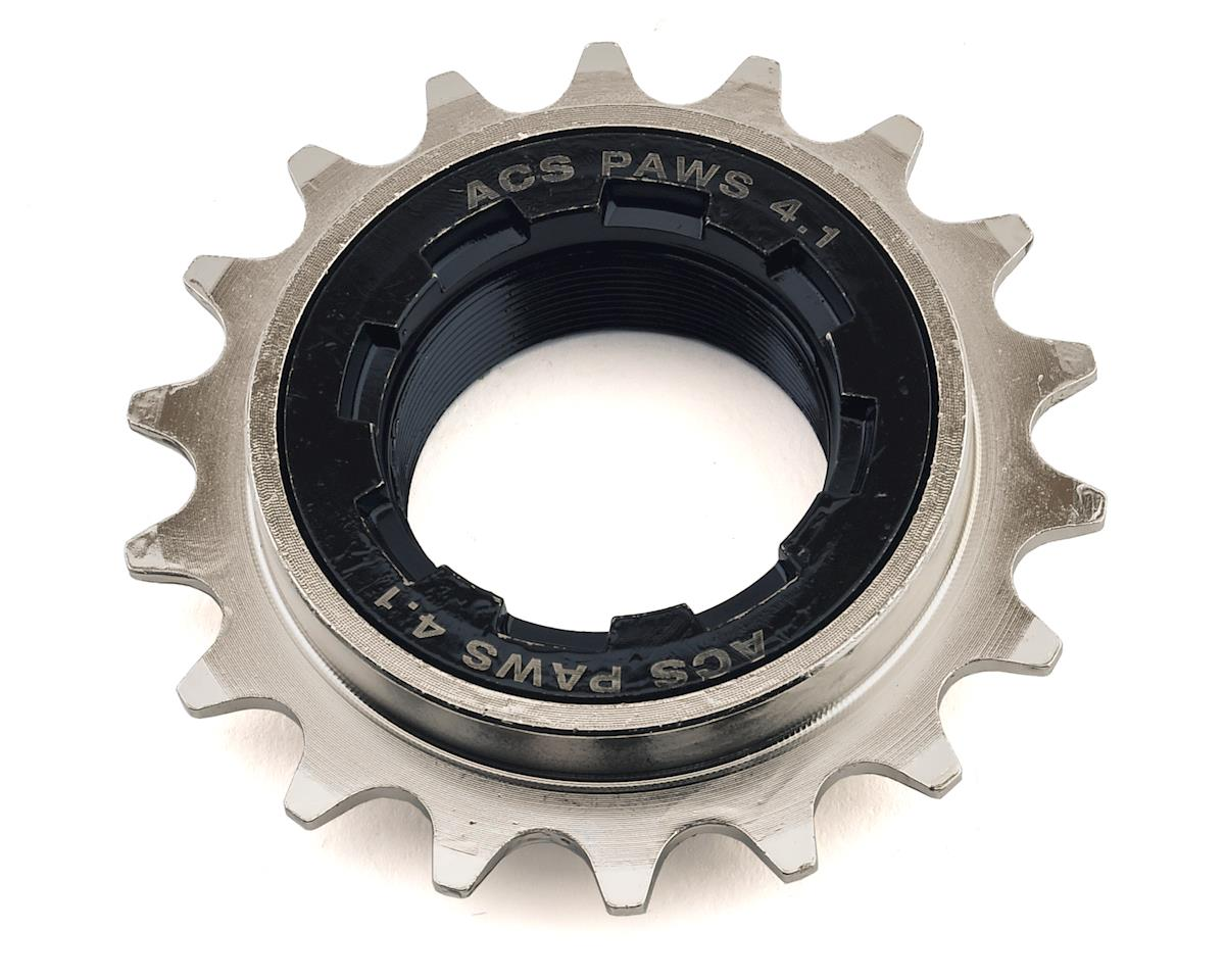 "PAWS 4.1 Freewheel, 18T 3/32"", Nickel"