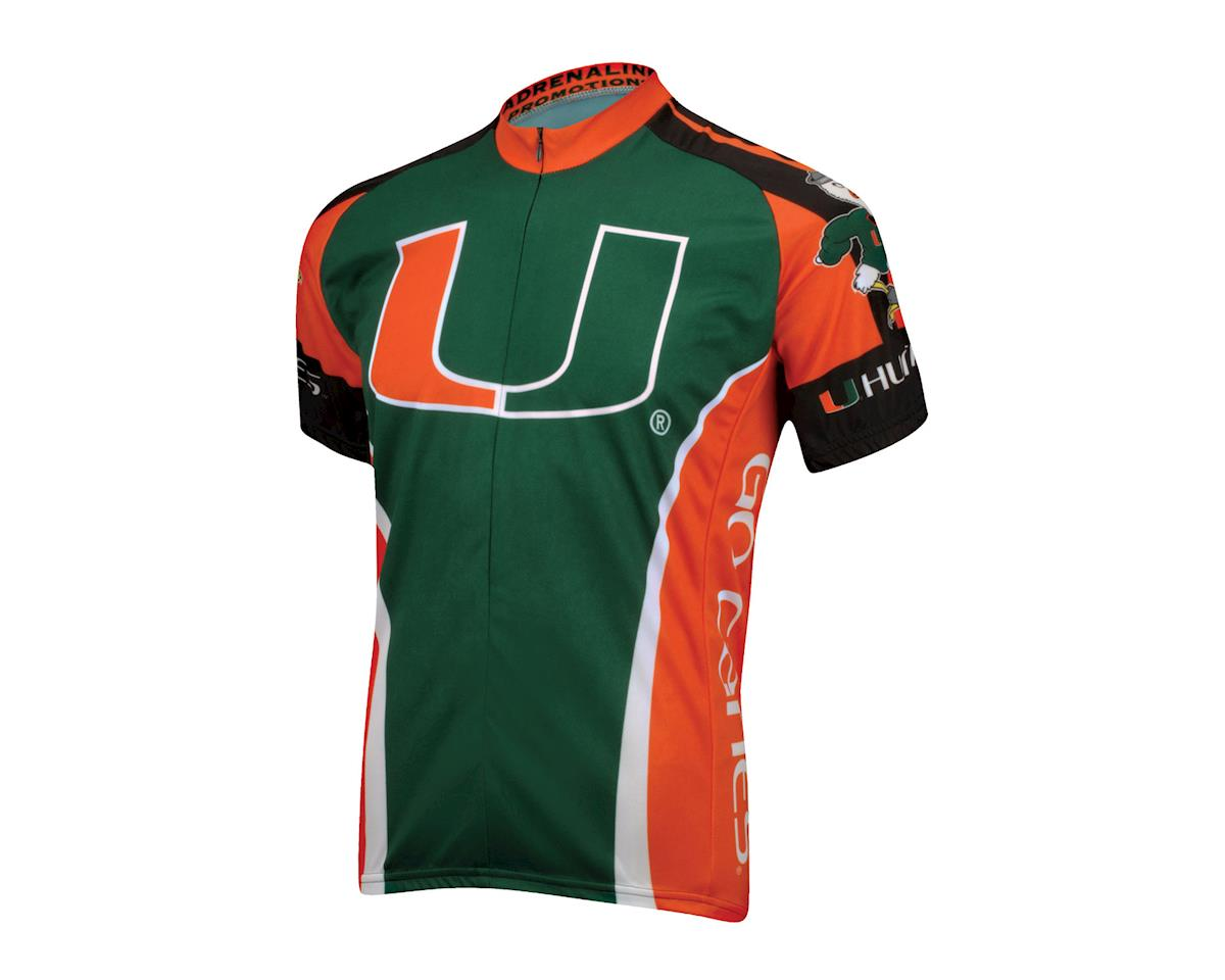 Adrenaline Promotions University of Miami Short Sleeve Jersey