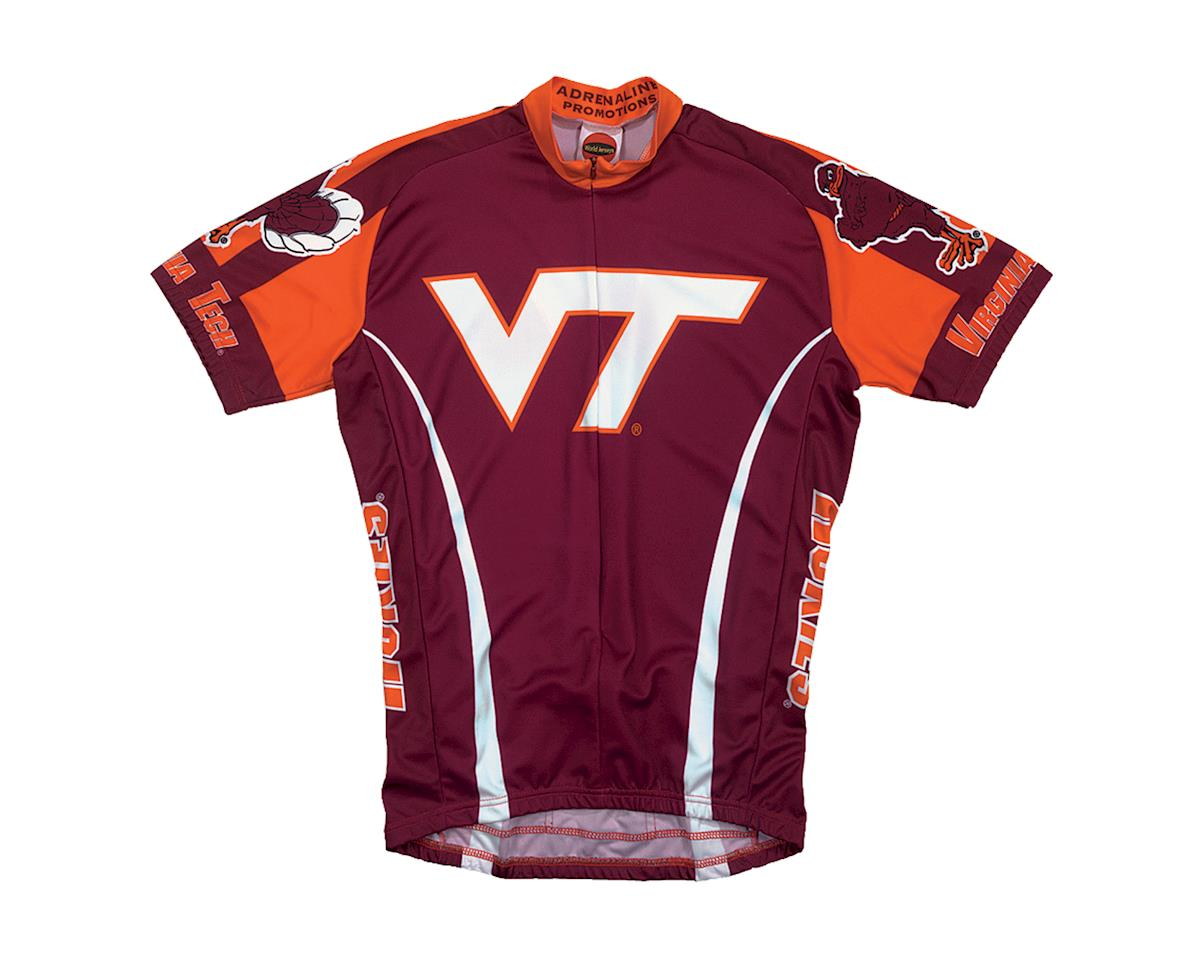 Adrenaline Promotions Virginia Tech Short Sleeve Jersey (Xxlarge)