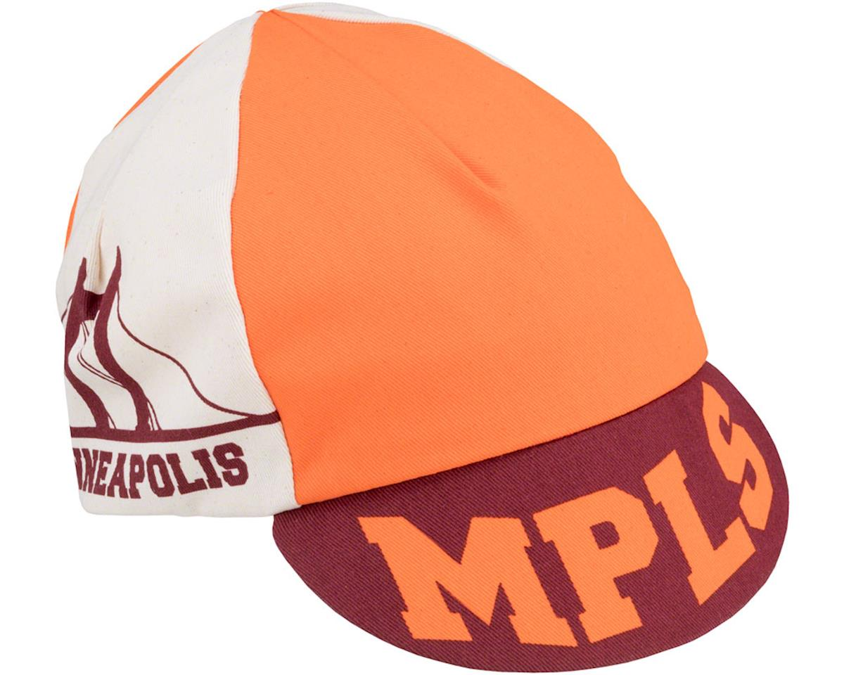 All-City Hennepin Bridge Cycling Cap (Maroon/Orange) (One Size)