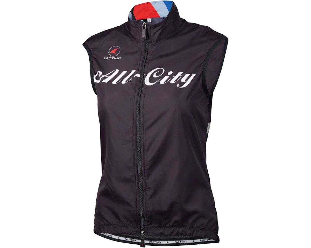 All-City Team Women's Vest (Black/Red/Blue) (XL)
