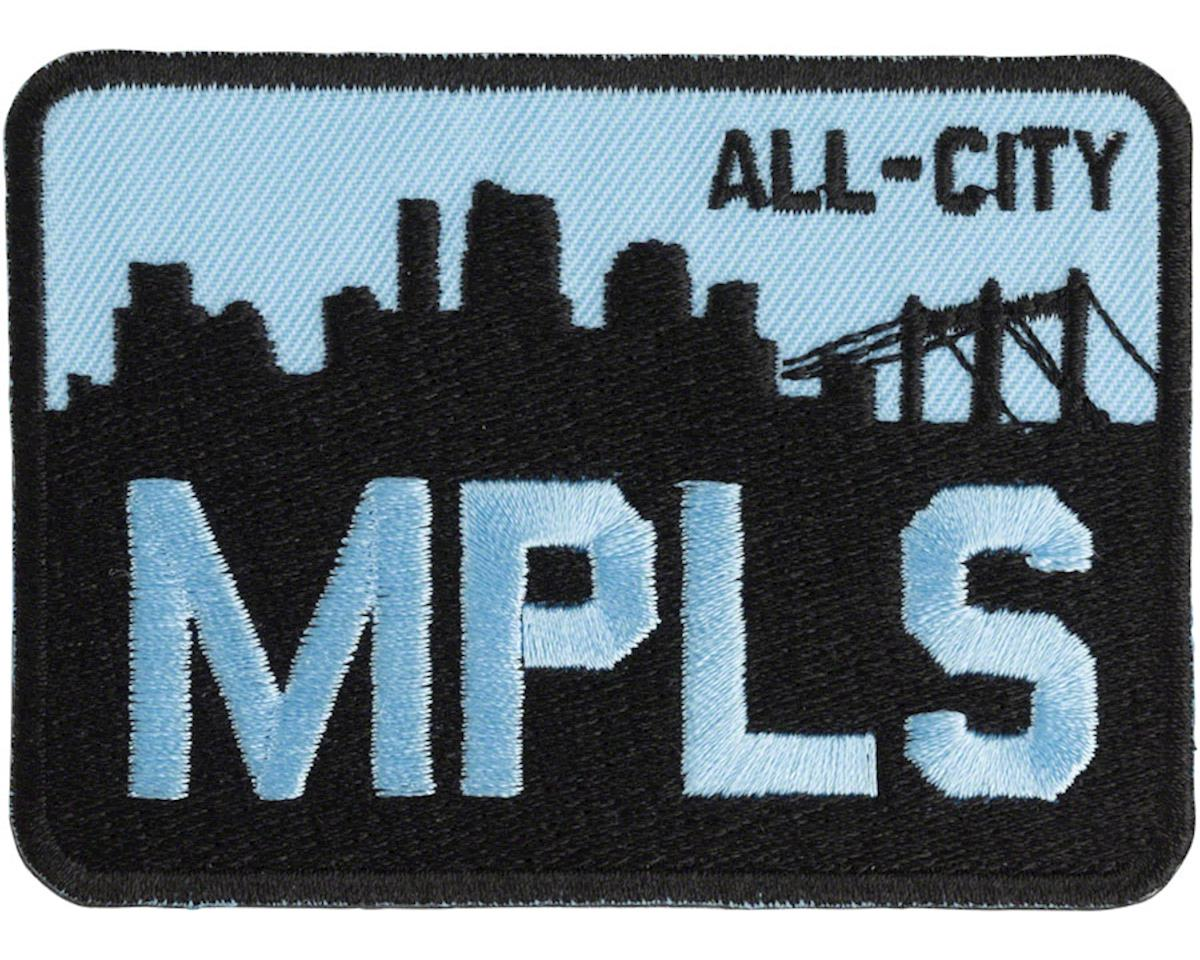 All-City MPLS Patch (Black/Blue)