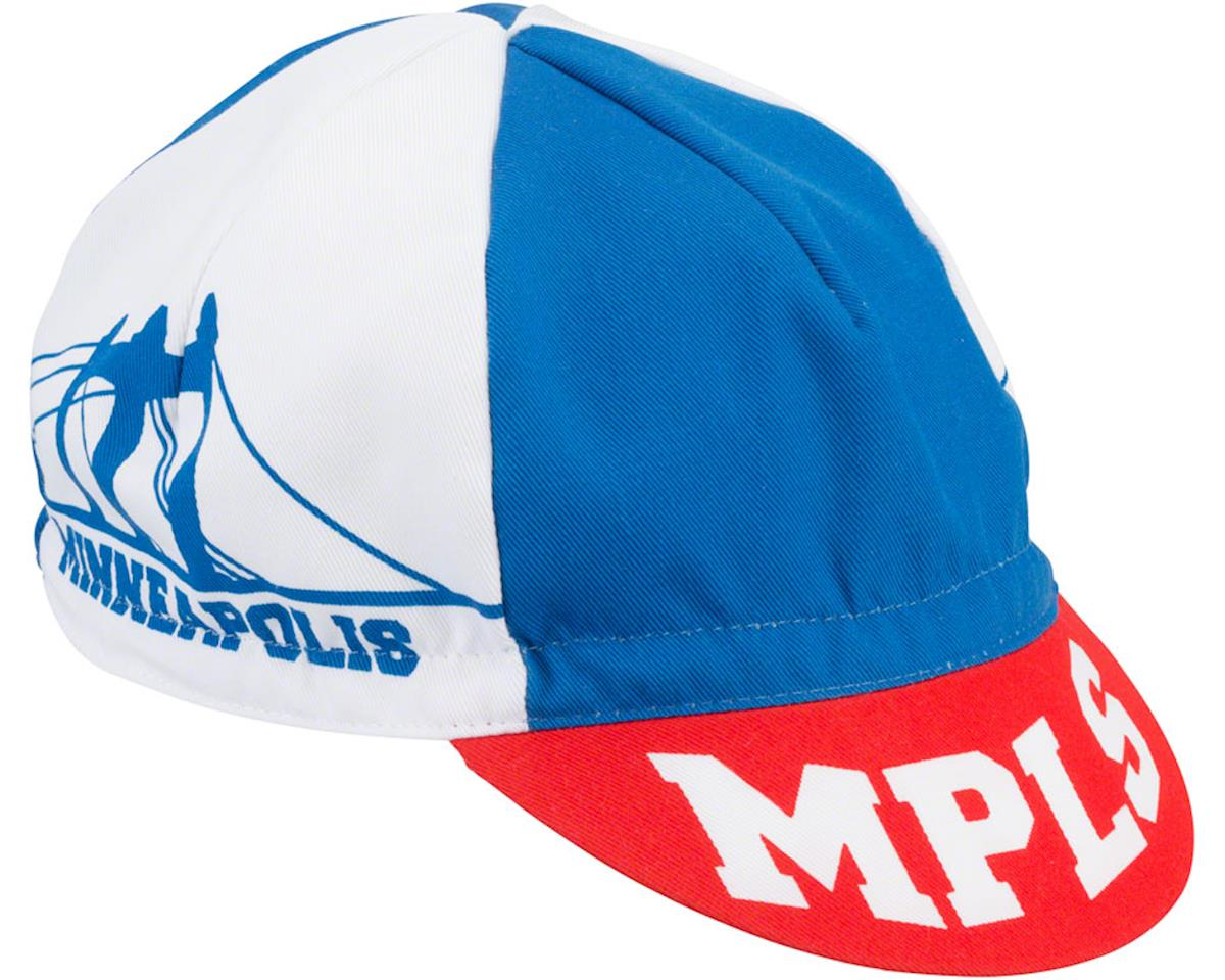 All-City Hennepin Bridge Cycle Cap (Red/White/Blue) (One Size)