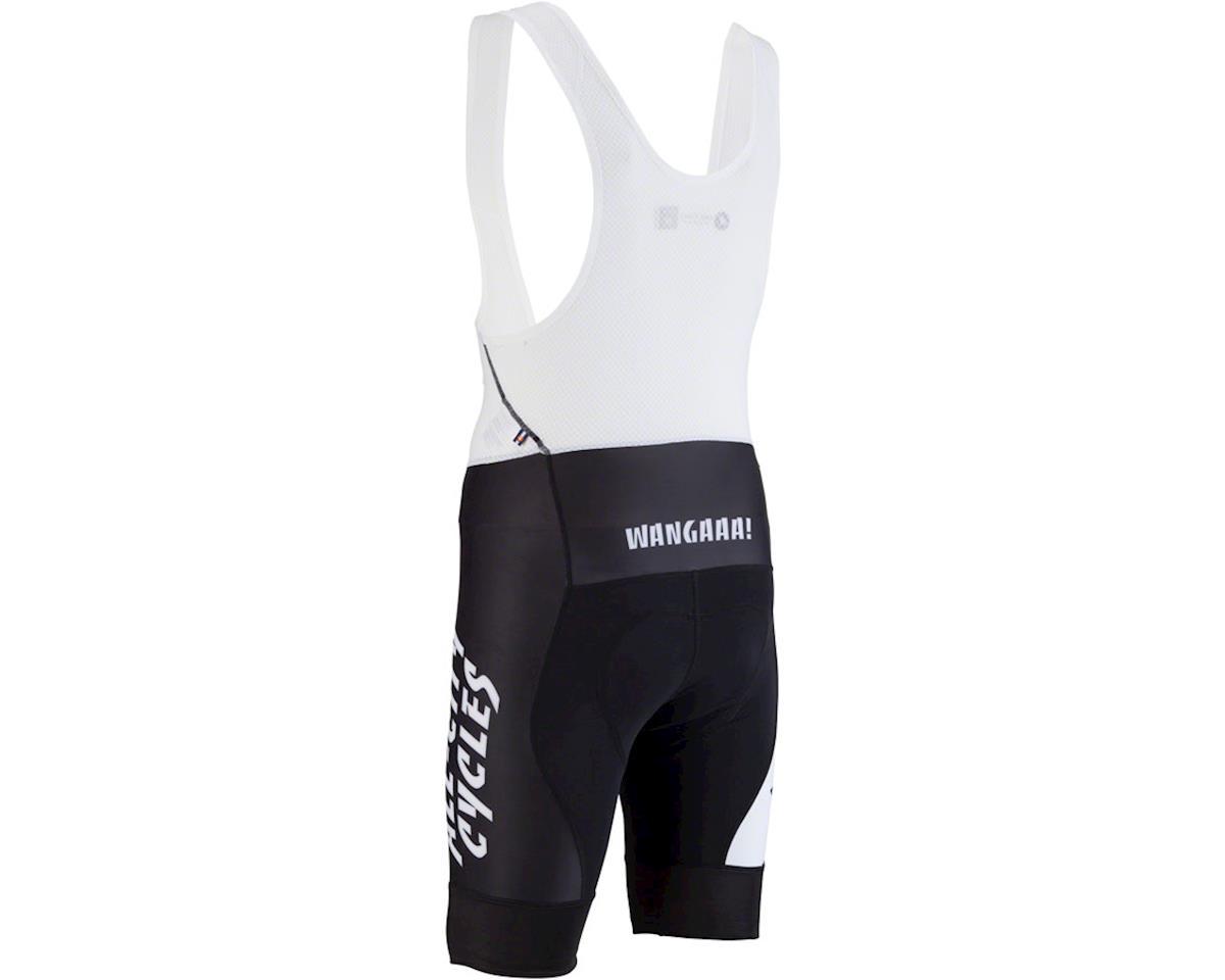 All-City Wangaaa! Men's Bib Short (Black/White) (2XL)