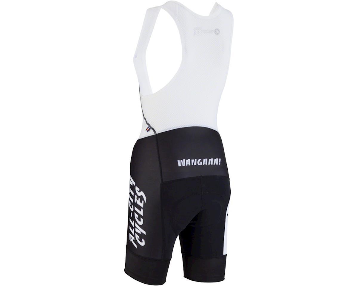 All-City Wangaaa! Women's Bib Short (Black/White) (S)