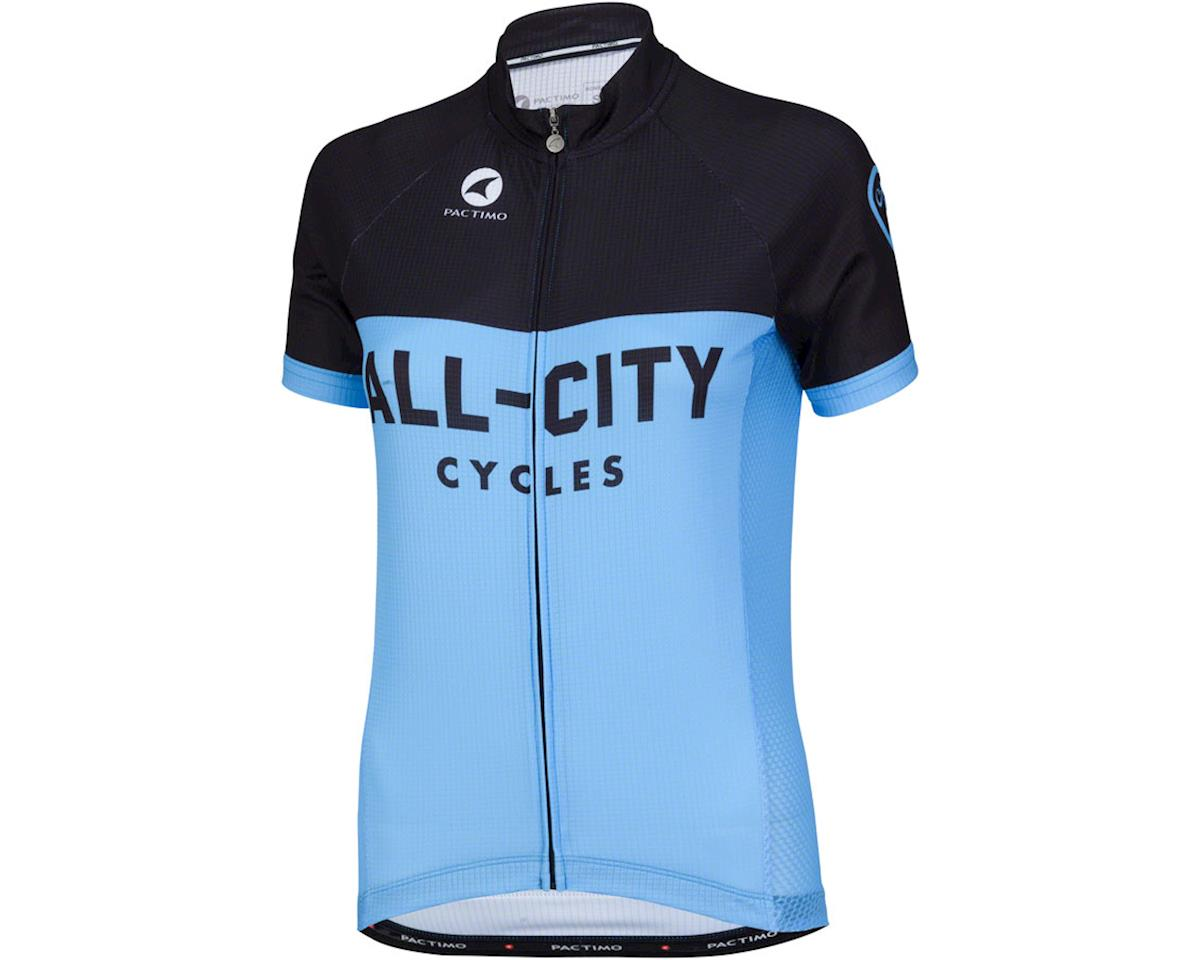 All-City Classic Women's Jersey (Blue/Black) (L)
