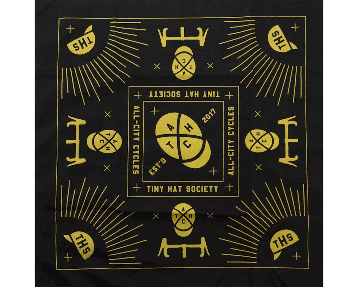 All-City Tiny Hat Society Bandanna (Black/Yellow)