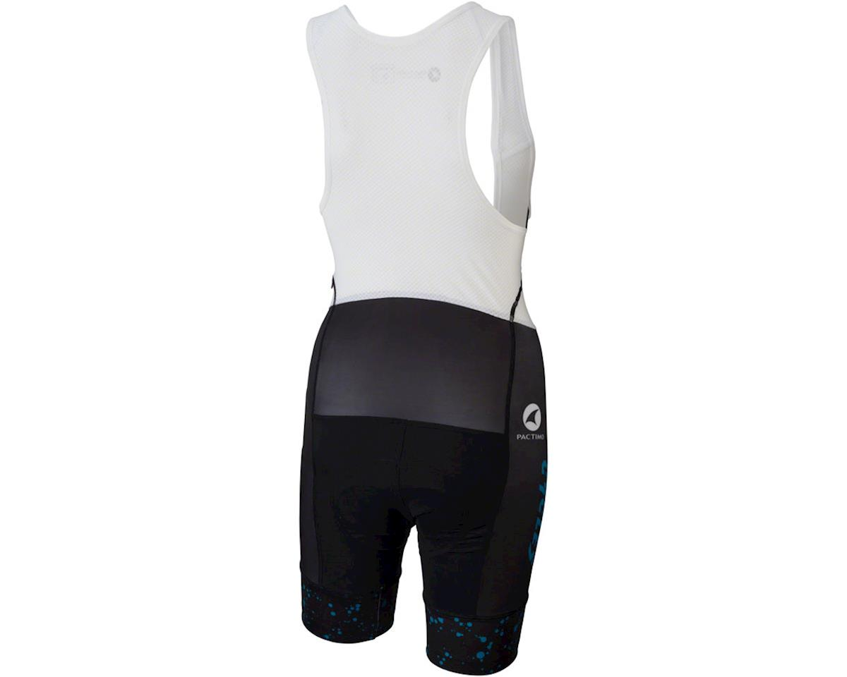 All-City Electric Boogaloo Women's Bib Short (Black/Blue) (XS)