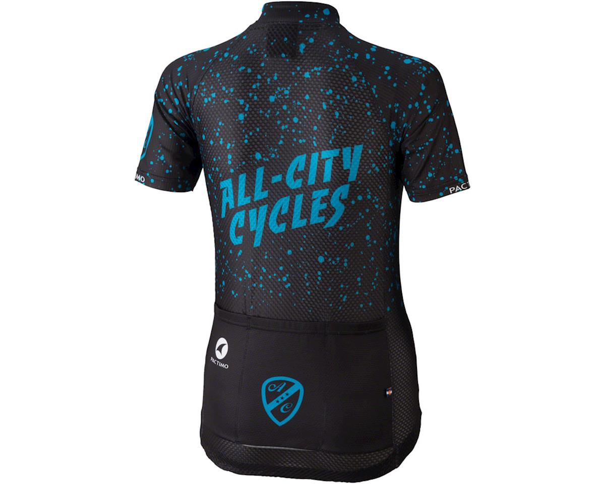 All-City Electric Boogaloo Women's Jersey (Black/Blue) (S)