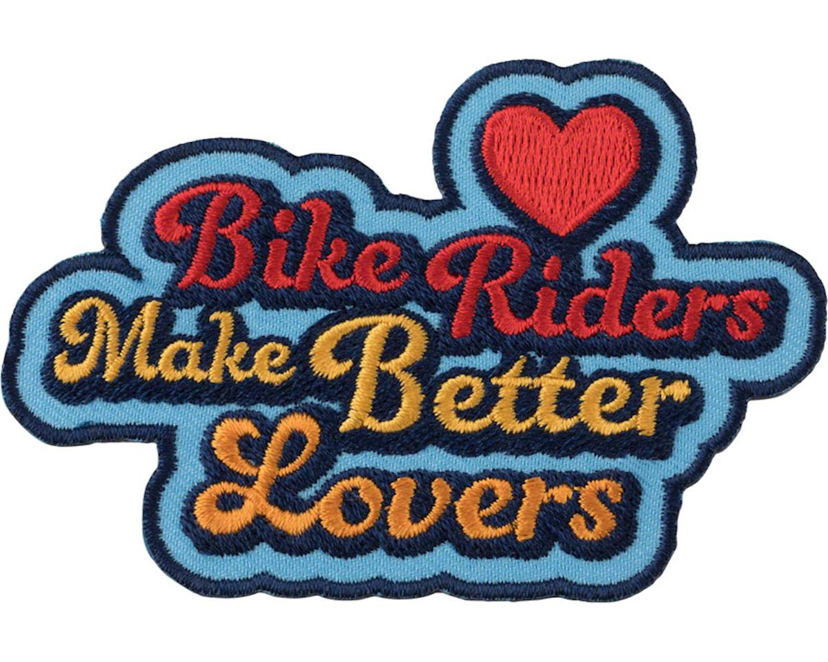 All-City Bikers Make Better Lovers Patch (Blue/Multi-Color)