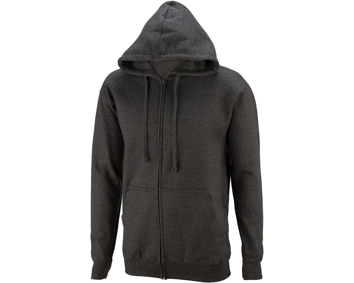 All-City California Fade 2.0 Hoodie: Charcoal Gray/Green Fade LG
