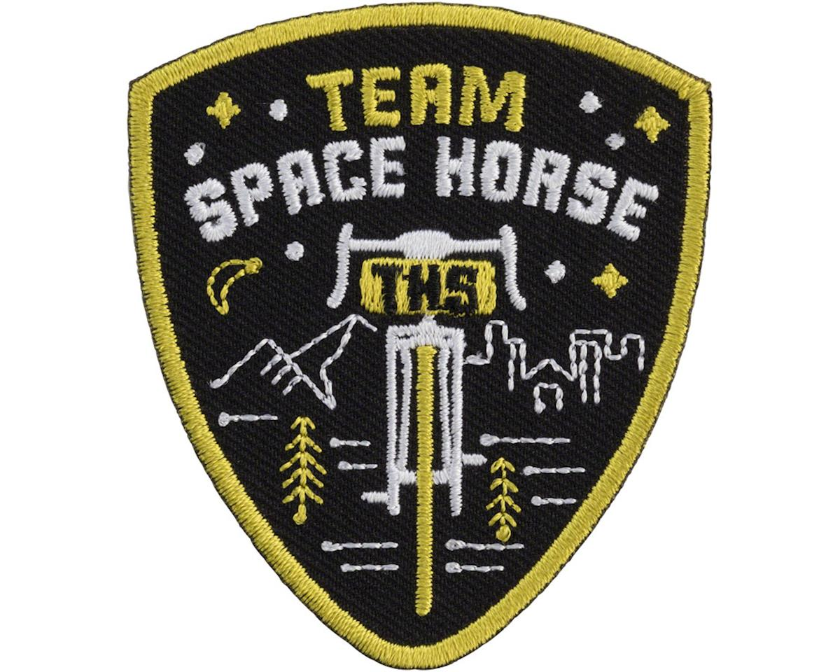 All-City Team Space Horse Patch (Black/Yellow)