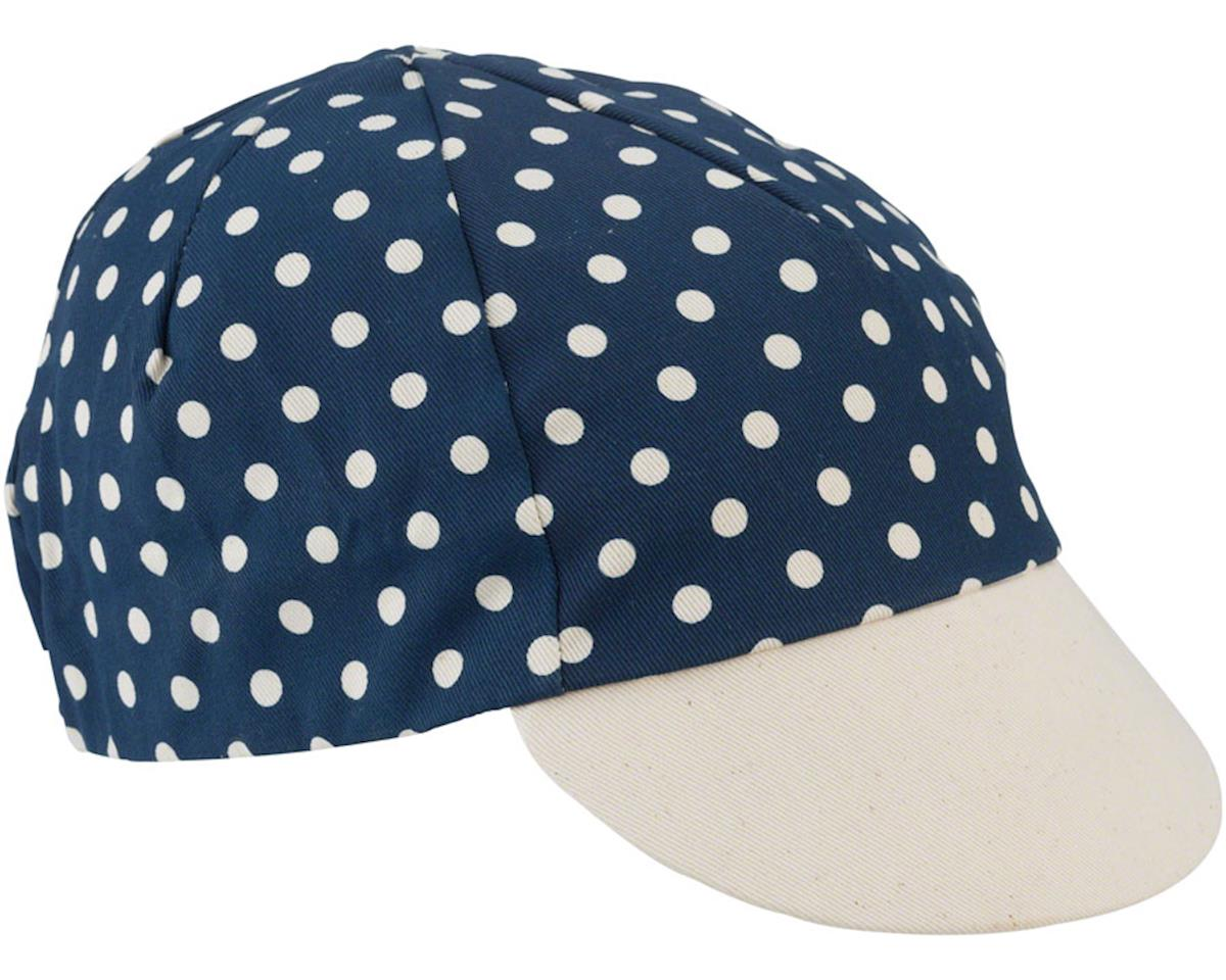 All-CIty Get Action Cycling Cap: Blue/Natural One Size