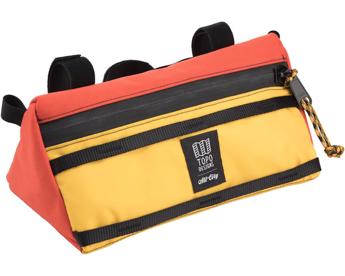 x Topo Bike Bag: Yellow/Orange