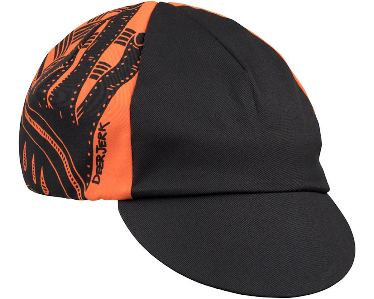 All-City DeerJerk Cycling Cap (Orange/Black) (One Size)