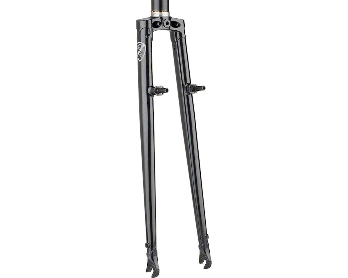 All-City Nature Boy Straight Blade Cross Fork (Black)