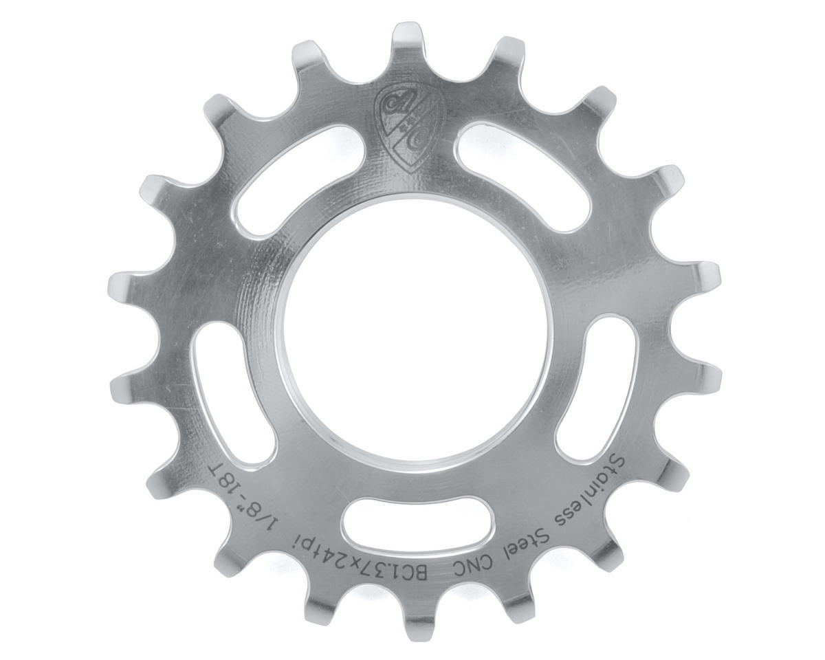 "All-City 1/8"" Single Speed Cog (Stainless Steel) (18T)"