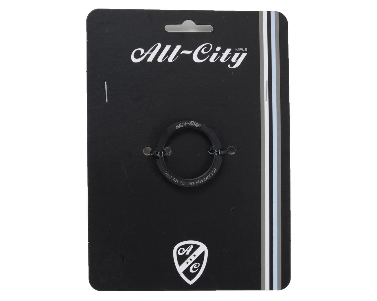 All-City Track Lockring Cromoly (Black)