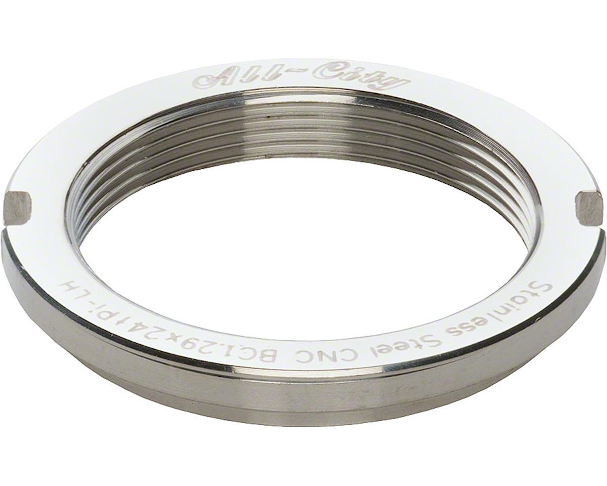 All-City Track Lockring (Stainless Mirror Polish)