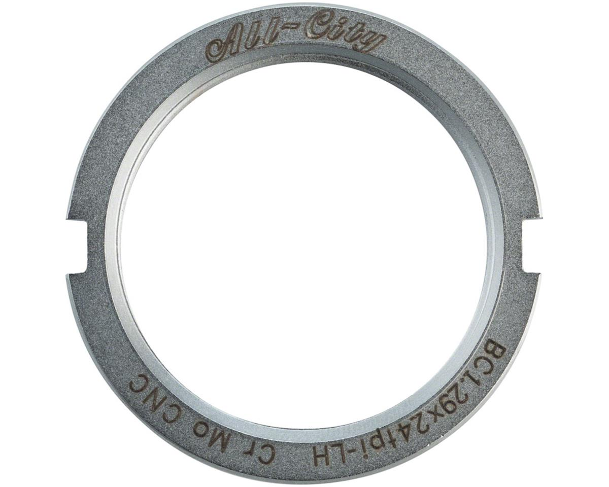 All-City Track Lockring (Chromoly Silver)