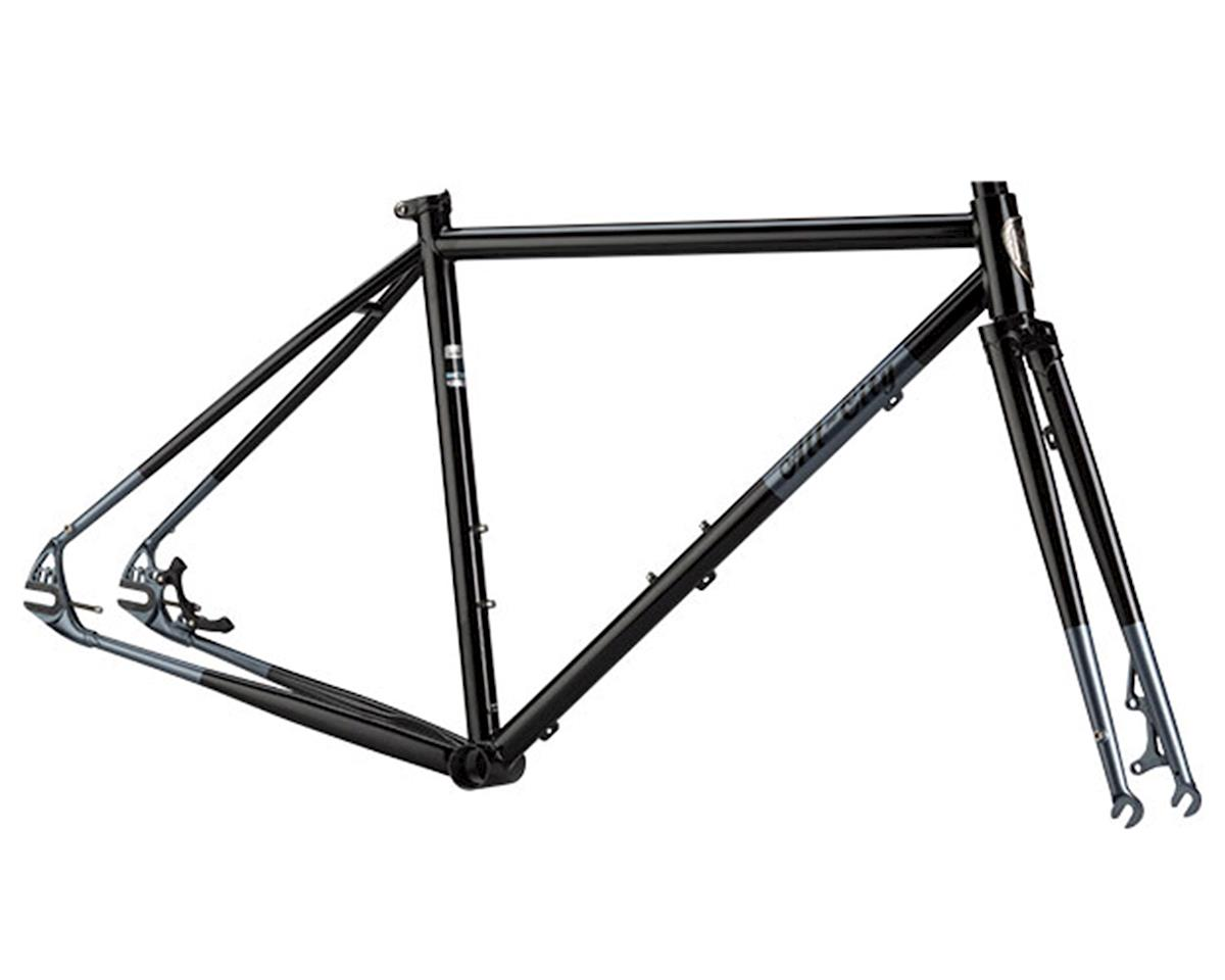 All-City Nature Boy Disc SSCX Frameset (Black/Dark Grey Tips)