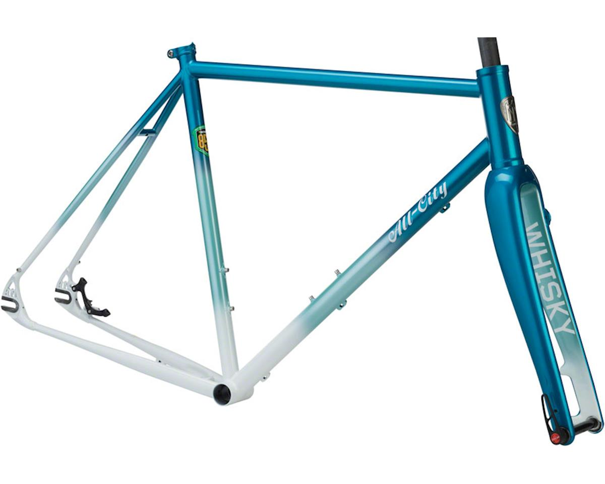 All-City 46cm Nature Boy Disc 853 Frameset (Teal/White Fade)