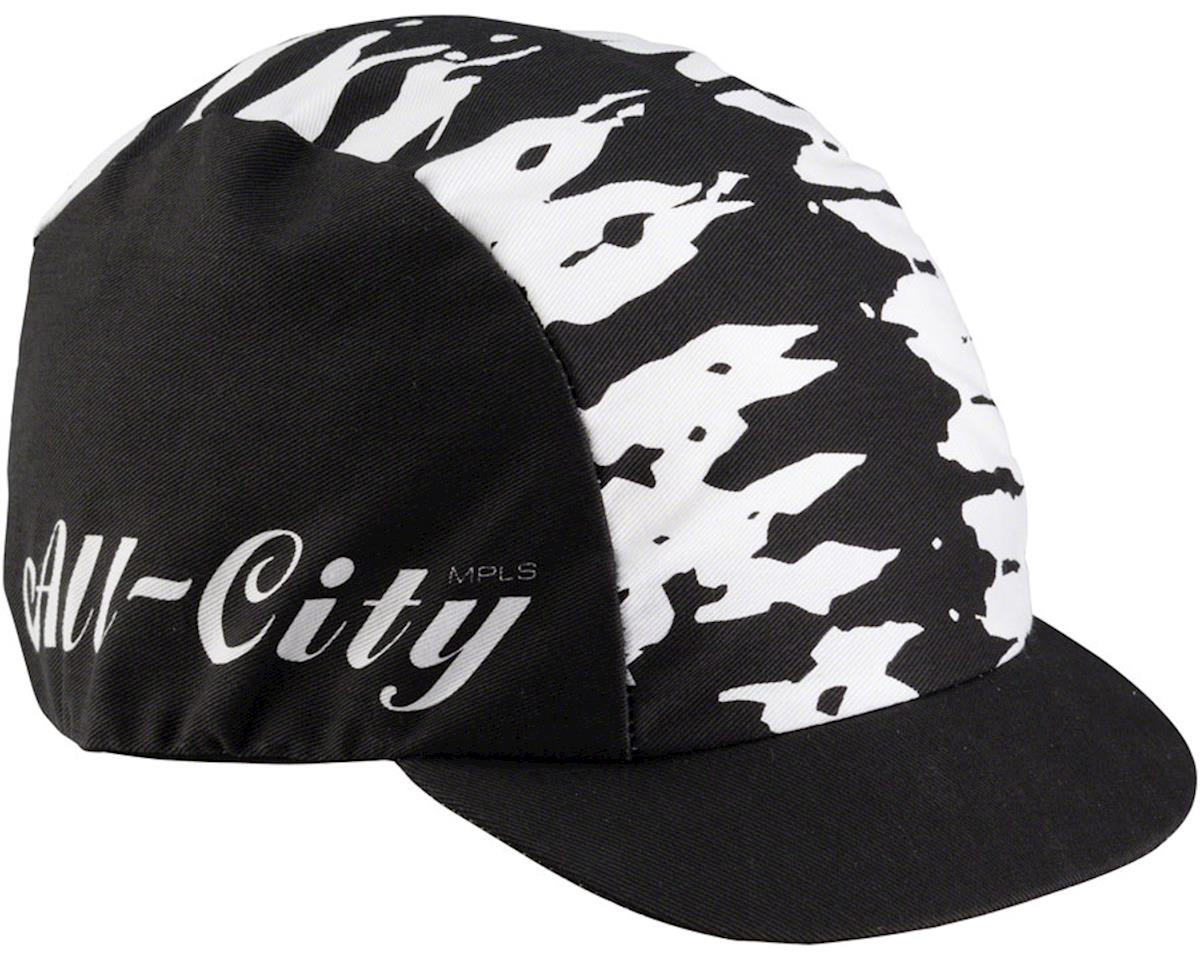 All-City Wangaaa! Cap (Black/White) (One Size)