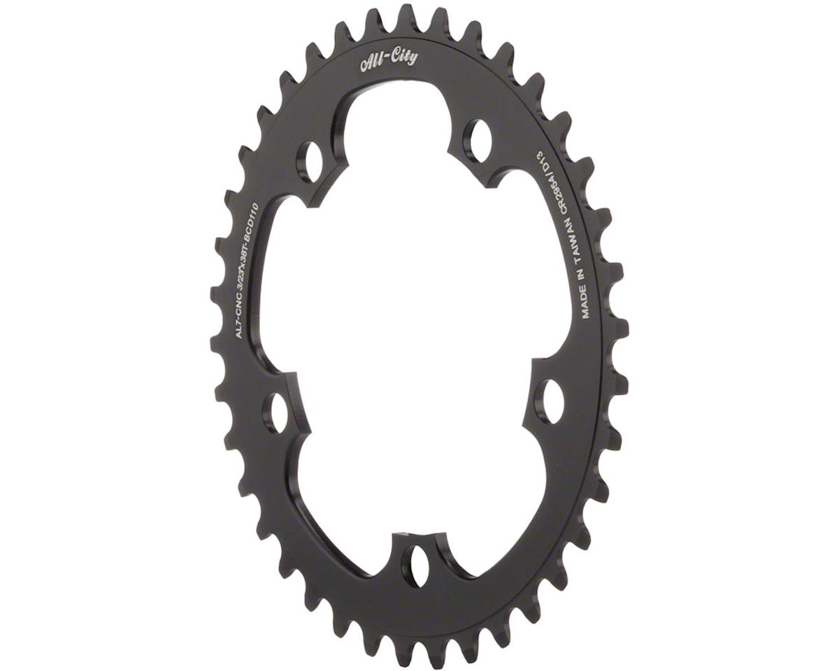 All-City Cross Ring (Black) (110mm BCD)