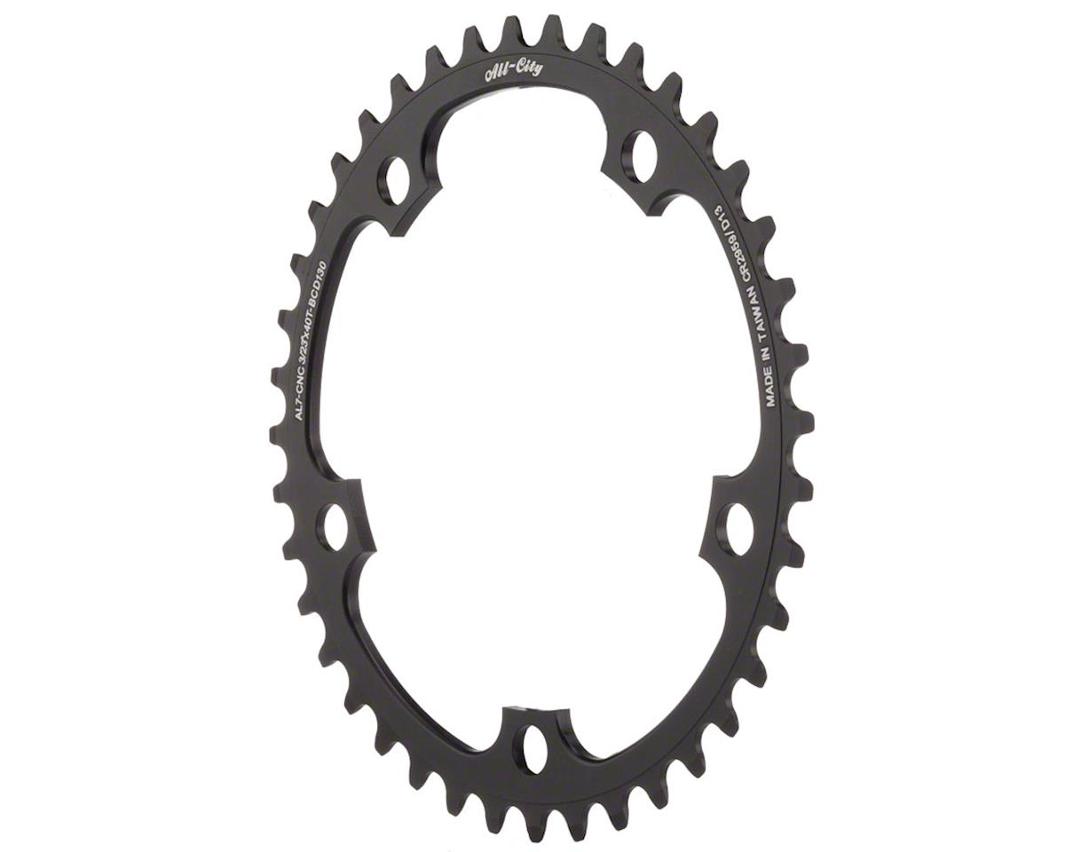 All-City Cross Ring (Black) (130mm BCD)